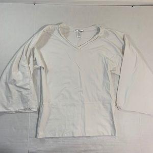 Neon Buddha Wide Bell Sleeve Shirt Top M